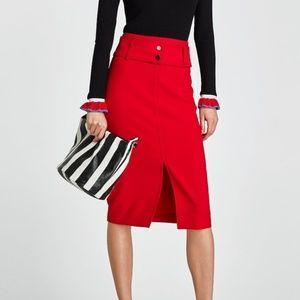 Zara pencil skirt medium